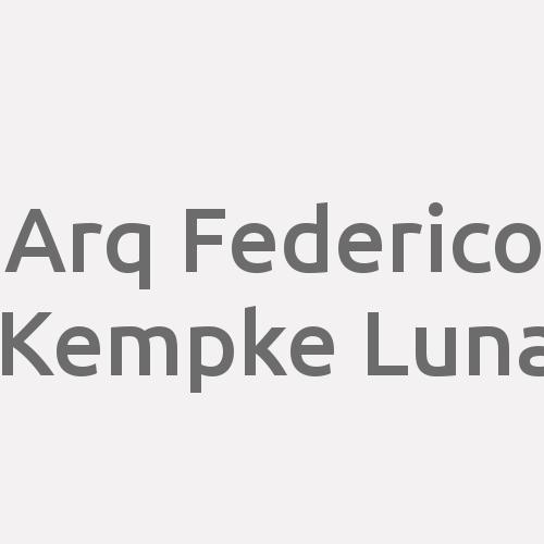 Arq. Federico Kempke Luna