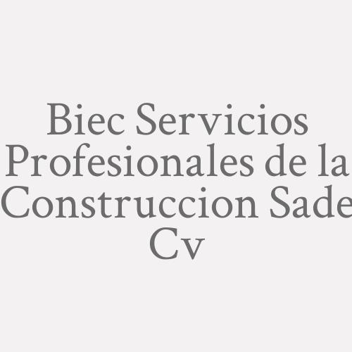 Biec Servicios Profesionales de la Construccion