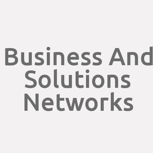 Business and Solutions Networks