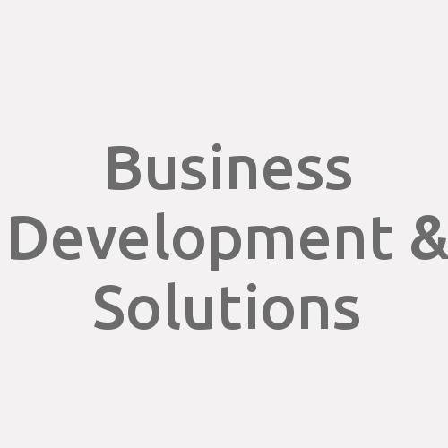 Business Development & Solutions