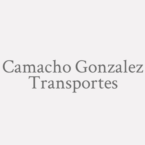 Camacho Gonzalez Transportes