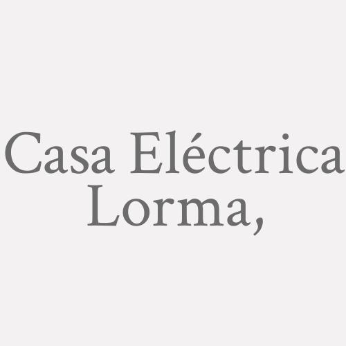 Casa Eléctrica Lorma,