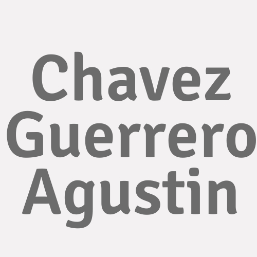 Chavez Guerrero Agustin