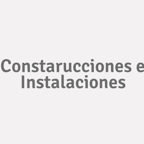 Constarucciones E Instalaciones