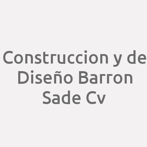 Construccion y de Diseño Barron SAde Cv