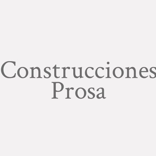 Construcciones Prosa