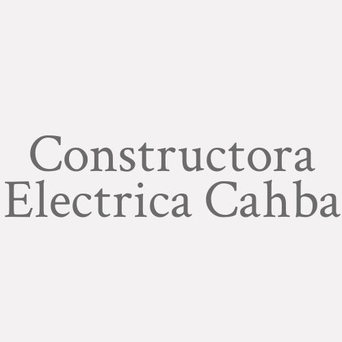 Constructora Electrica Cahba