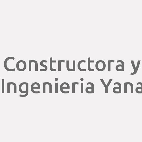 Constructora y Ingenieria Yana