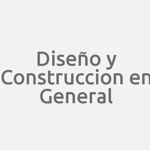 Diseño Y Construccion En General