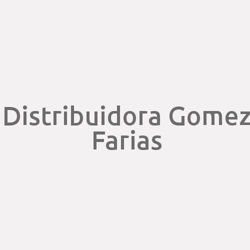 Distribuidora Gomez Farias