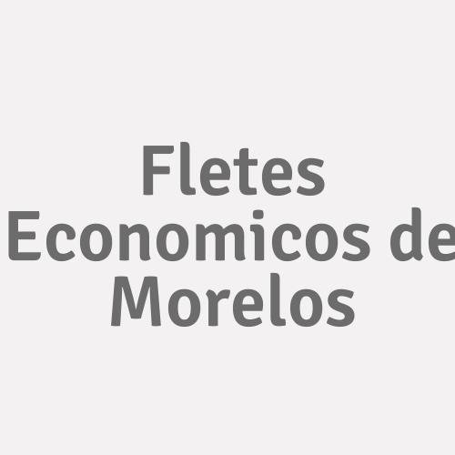 Fletes Economicos de Morelos