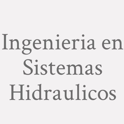 Ingenieria en Sistemas Hidraulicos