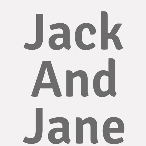 Jack And Jane