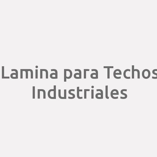 Lamina para Techos Industriales