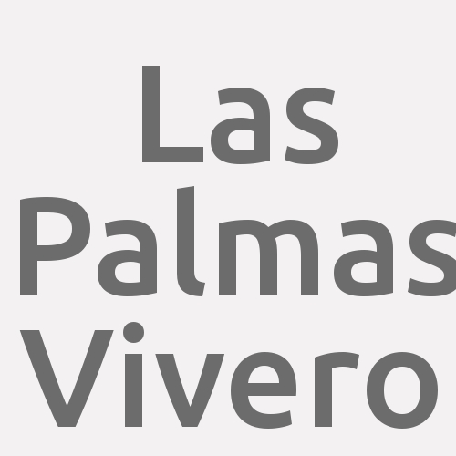 Las Palmas Vivero