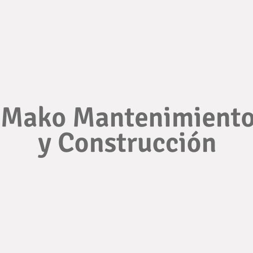 Mako Mantenimiento Y Construcción