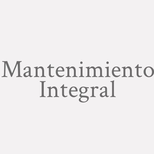 Mantenimiento Integral