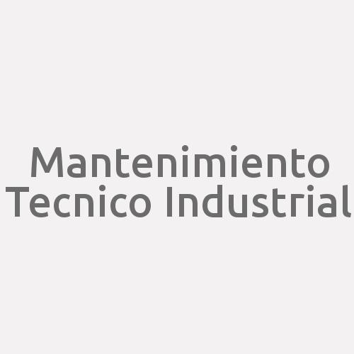 Mantenimiento Tecnico Industrial