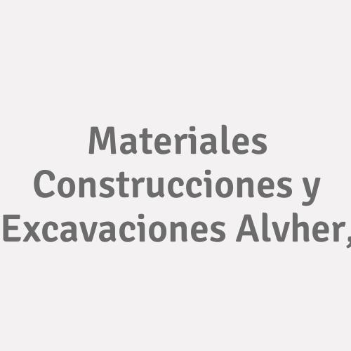 Materiales Construcciones y Excavaciones Alvher,