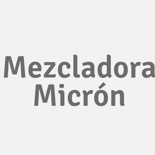 Mezcladora Micrón