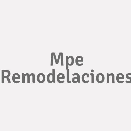 Mpe Remodelaciones