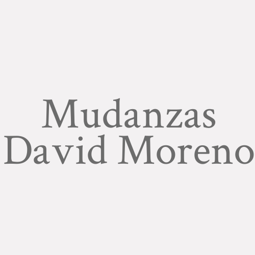 Mudanzas David Moreno