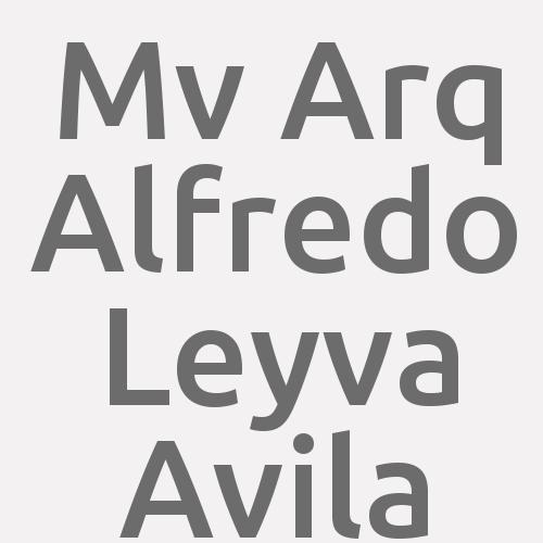 M.v. Arq. Alfredo Leyva Avila