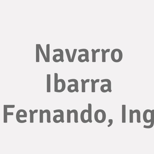 Navarro Ibarra Fernando, Ing