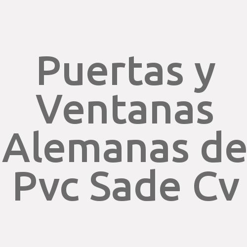 Puertas y Ventanas Alemanas de Pvc SAde Cv