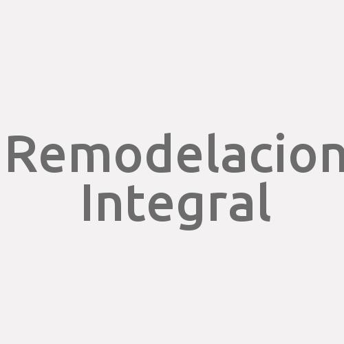 Remodelacion Integral