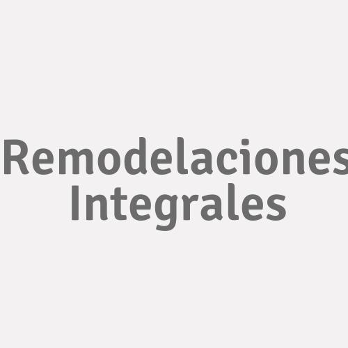 Remodelaciones Integrales