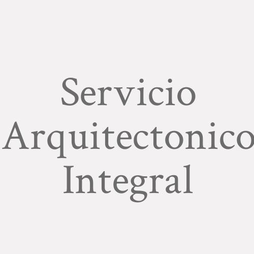 Servicio Arquitectonico Integral