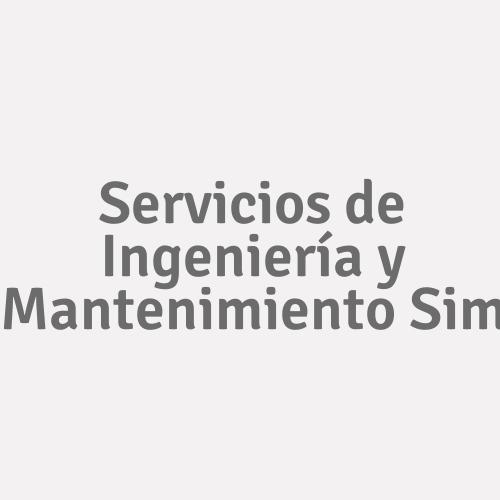 Servicios de Ingeniería y Mantenimiento Sim