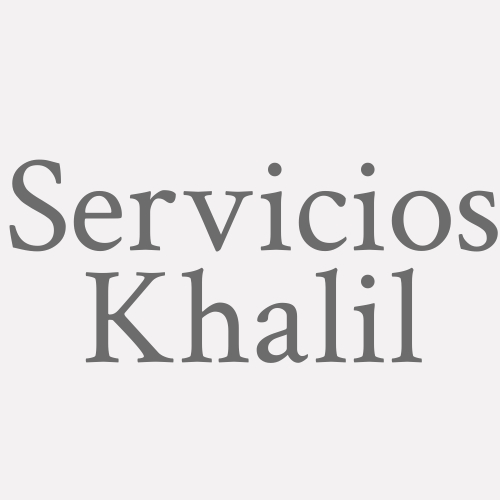 Servicios Khalil