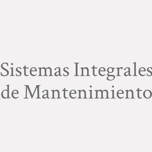 Sistemas Integrales De Mantenimiento