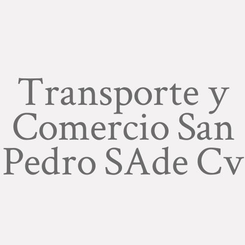 Transporte Y Comercio San Pedro S.a. De C.v.