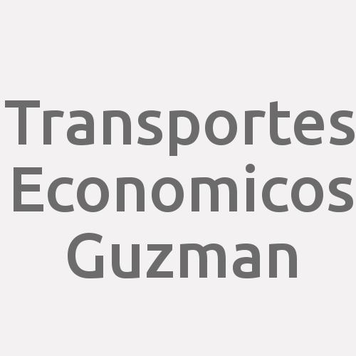Transportes Economicos Guzman