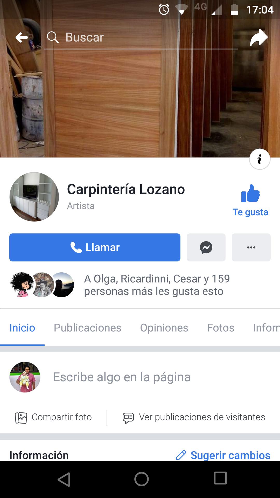 Carpintería Lozano
