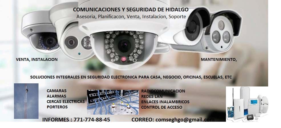 Comunicaciones Y Seguridad De Hidalgo