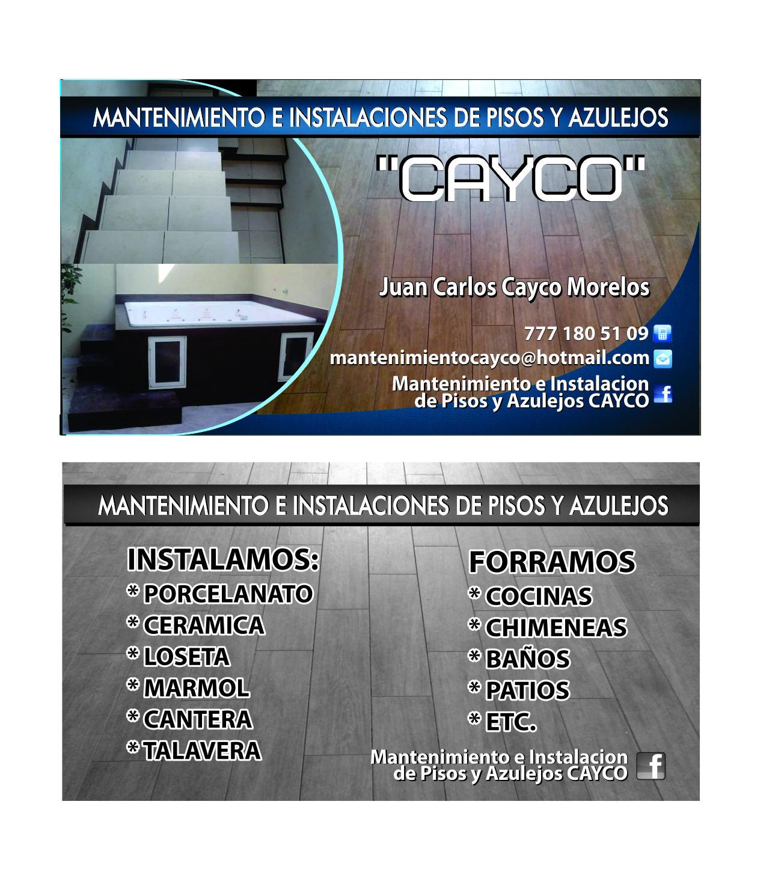 Mantenimiento General Cayco Morelos
