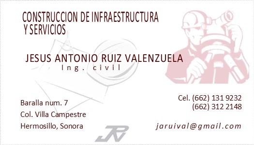 Construccion De Infraestructura Y Servicios