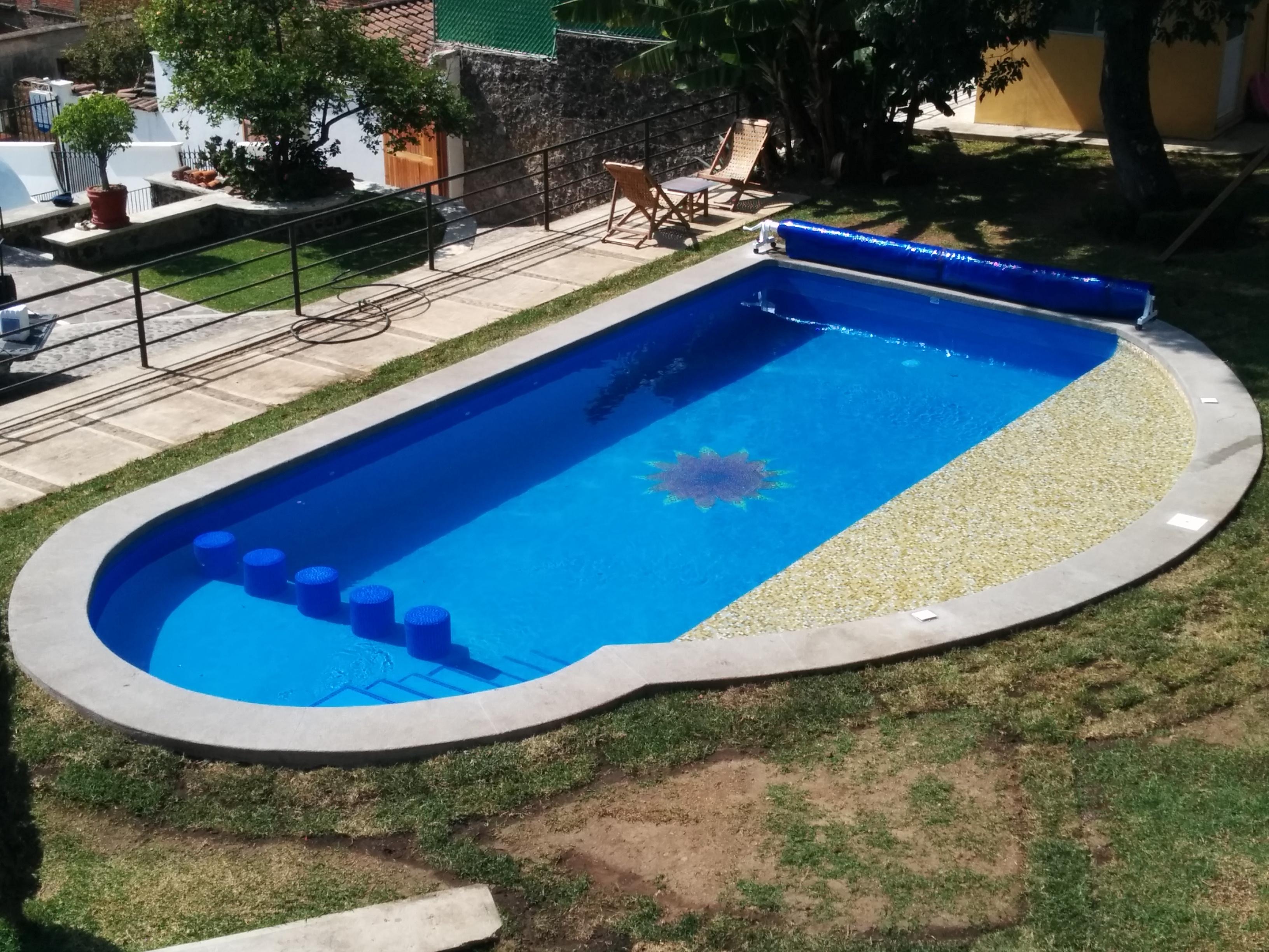 Seenergy mexico construcci n alberca en cuernavaca for Construccion de piscinas en mexico