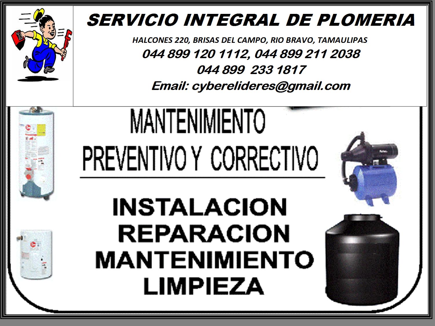 Servicio Integral De Plomeria