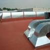Proveer 7 metros de ducto flexible con forro  de 40 cm de diámetro, 2 termostatos marca honeywell modelo 2005