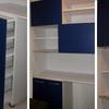 Dos closet su sencillos y una alacena para la cocina.