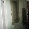 Arreglar y pintar pared de baño