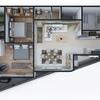 Diseño arquitectónico Terreno de 1100mts2