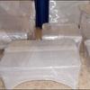 Modernizacion de las Oficinas y Cubrir los Mueble con Vidrio
