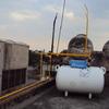 Instalación de tanque estacionario y boiler de paso