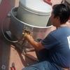 Instalación/mantenimiento de jaulas de tendido en azotea